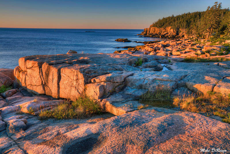 Acadia Coast Sunrise 6136 w43