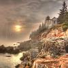 Foggy Sunset 8601 w21