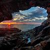 Anemone Cave Sunrise  5982 w43