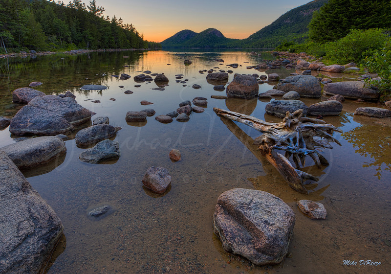 Jordan Pond Sunset 0162 w63
