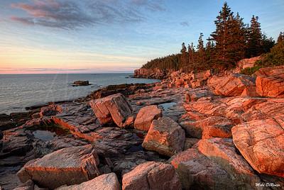 Otter Cliffs Sunrise 0036 w63