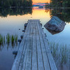 Wooden Wharf Sunrise 6916 w43