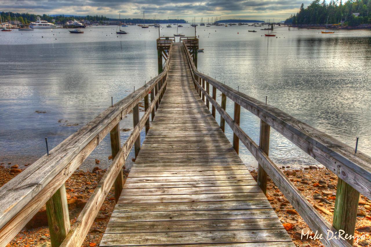 Long Wharf Southwest Harbor Maine  8913    w21