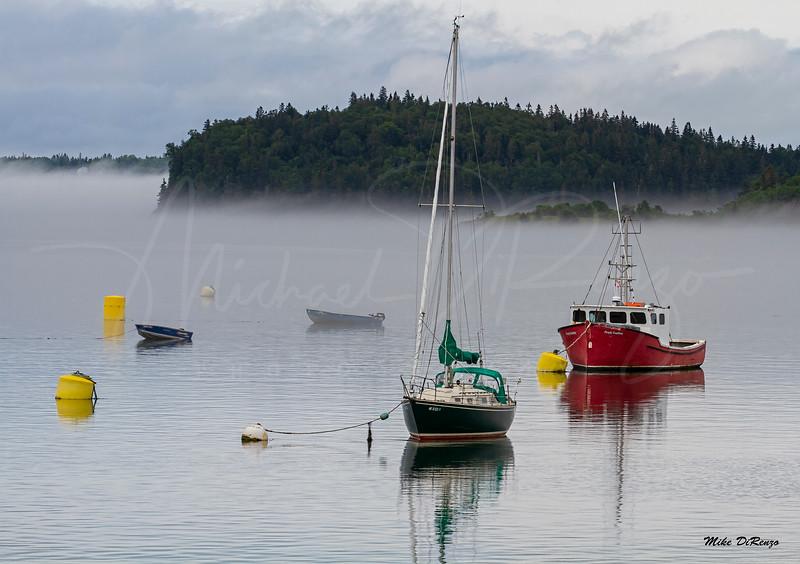 Lubec Maine Harbor 0536 w63