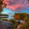 Lake  Millenocket  Sunset  6617 w43