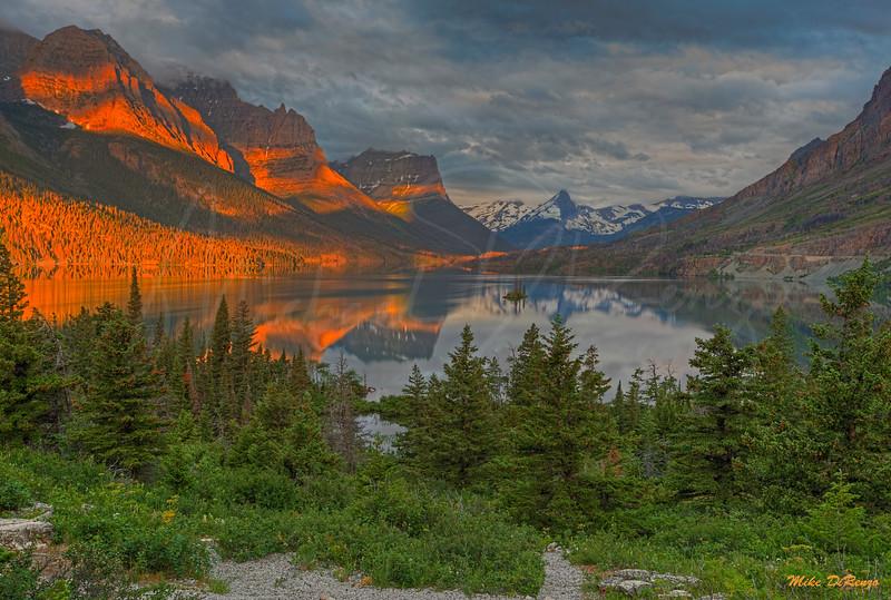 Montana Mountain Morning 5277 w51