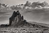 Shiprock in Monochrome 2066