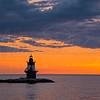Orient Point Lighthouse at Dusk 3301 w51