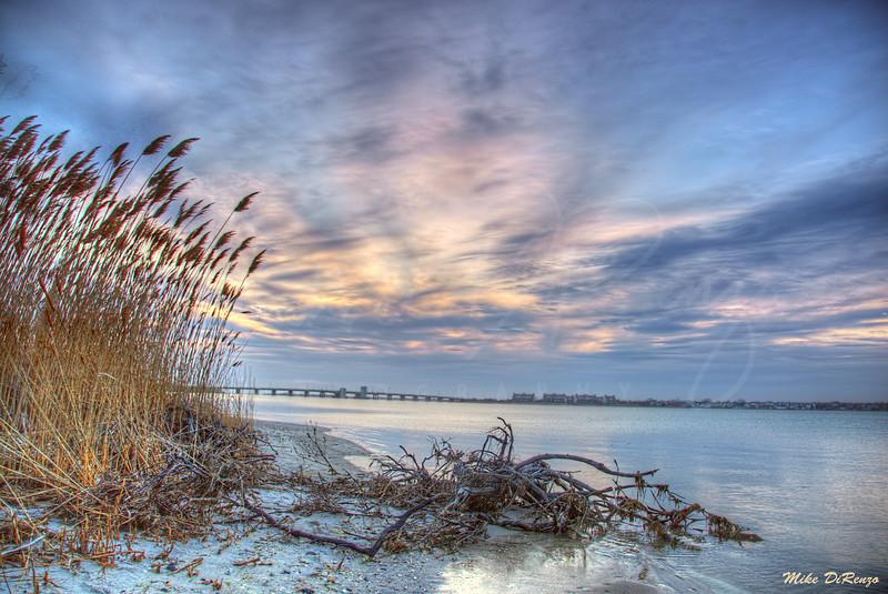 Smith Point Sunset   0434 w30  Long Island, New York