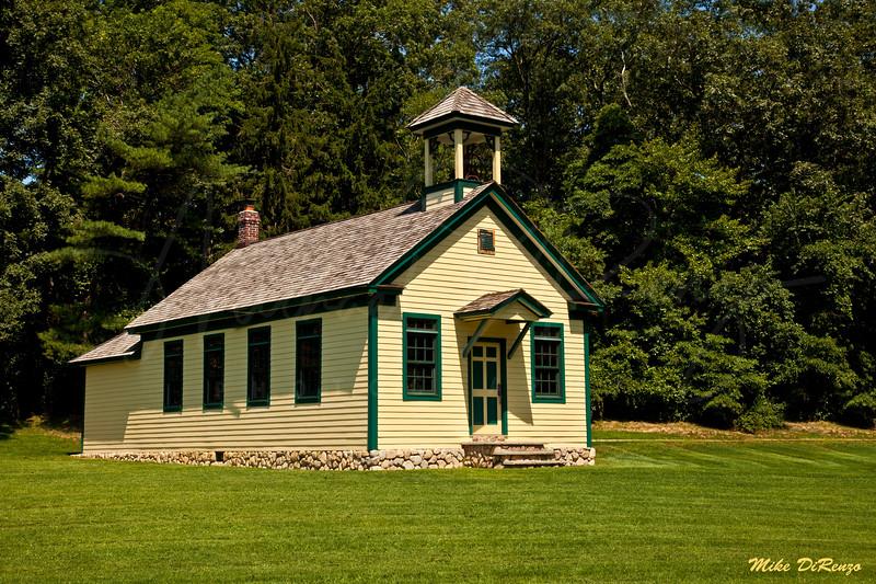 One Room Schoolhouse 6732 w28