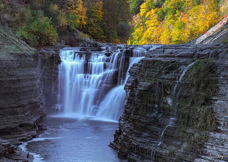 Upper Falls - Letchworth State Park NY 7877 w69