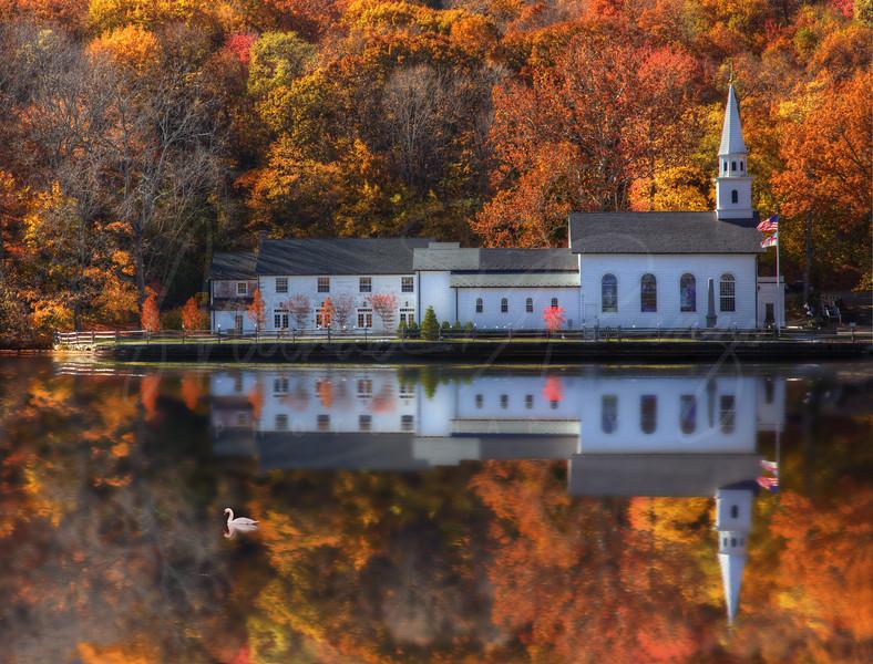 St. John's Church Reflection 8280 w28