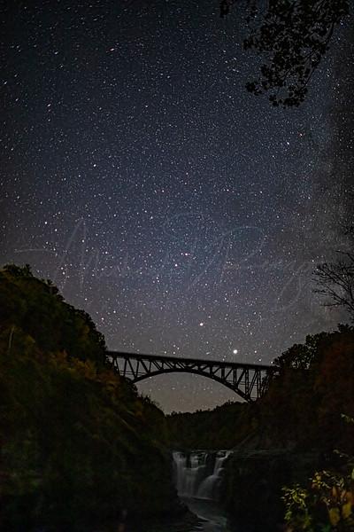 Upper Falls at Night 7810 w69