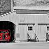 Red Truck in the Barn  9873  w29