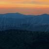 Foggy Mountain Sunset 0673 w58