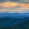 Smokie Mountains Sunset 3146 w58