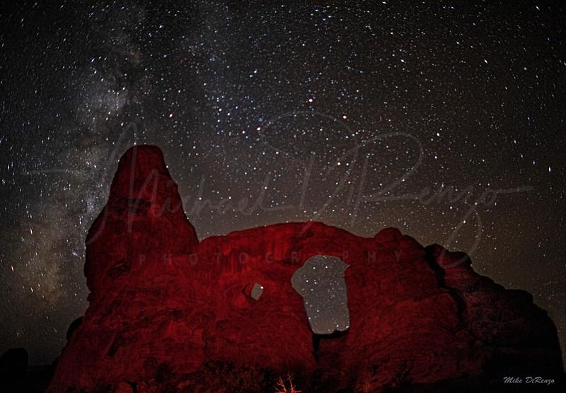 Turret Arch Under the Stars  1621 w64