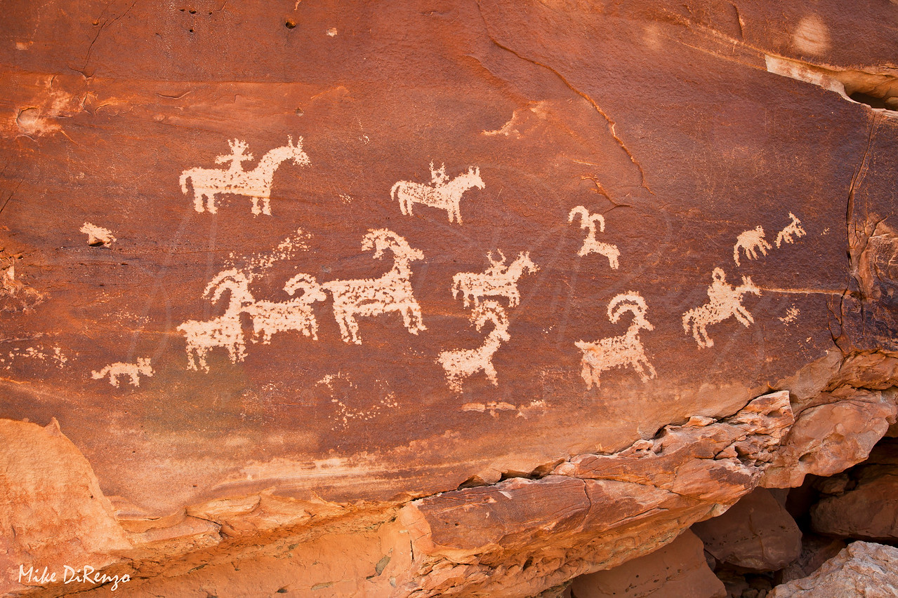 Petroglyphs Panel  2300   w21