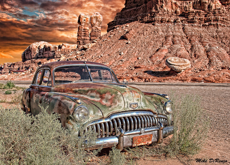 Old Abandoned Buick