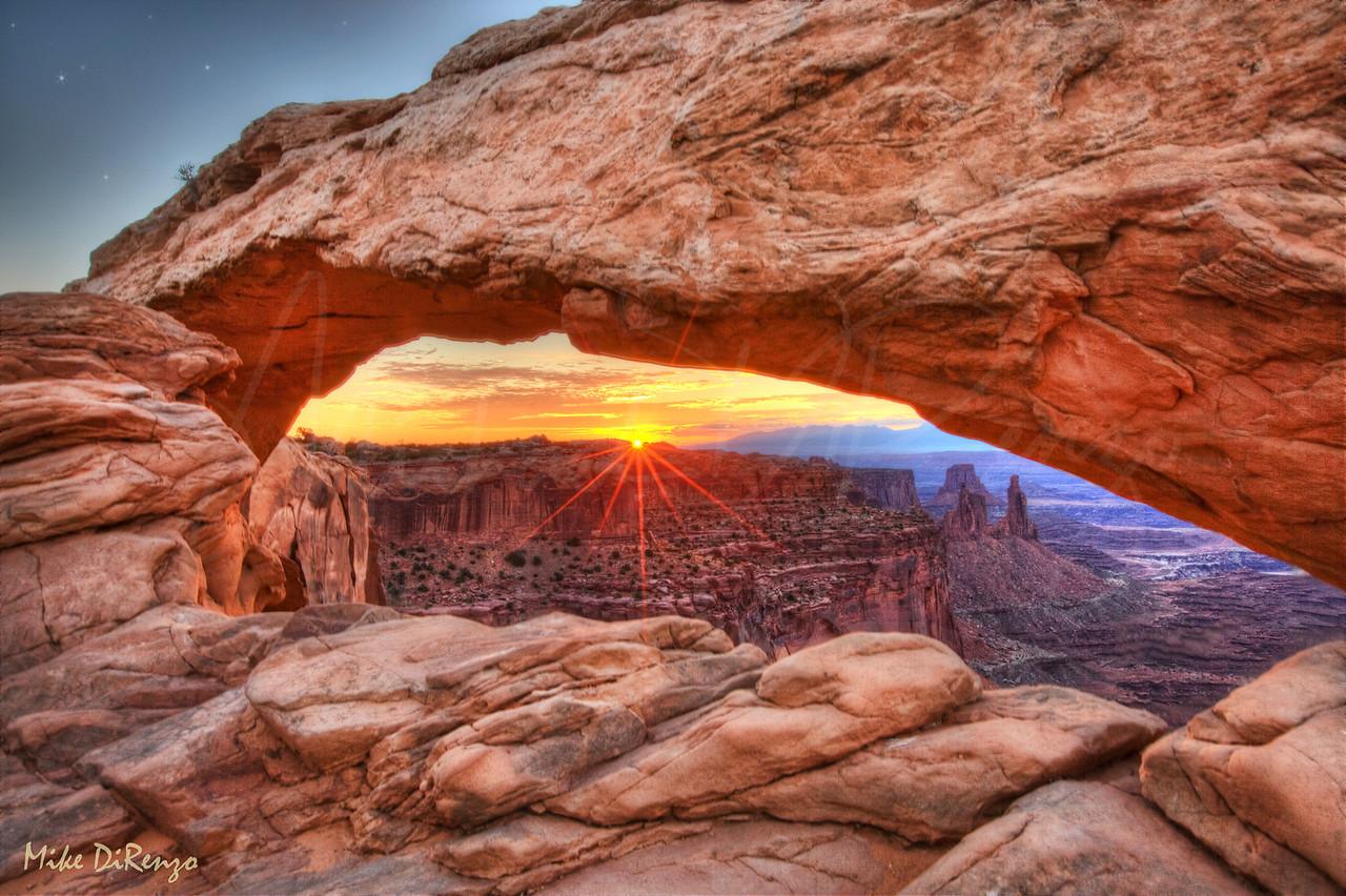 Mesa Arch at Dawn  3065  w22