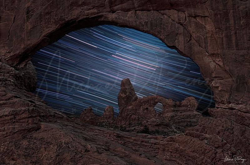 Star Trails Arch 6293 w64