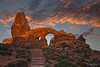 Turret Arch Sunrise 2224 w71