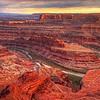 Dead Horse Point Sunset 2998 w55