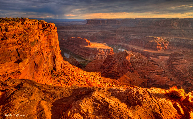 Dead Horse Point at Sunset 2951 w42