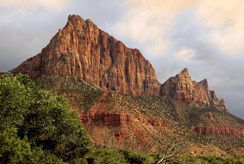 The Watchman in Zion at Dawn  4051
