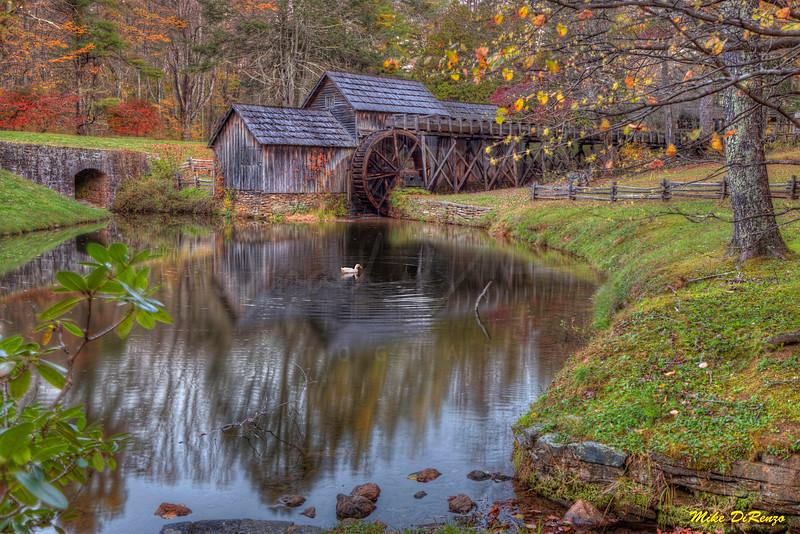 Mabry Mill in Autumn 6095 w46