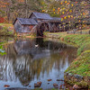 Mabry Mill in Autumn 6095 w46