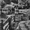 Mabry Mill - Black and White  7862  w21
