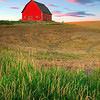 Red Barn on a Hill 7044 w51