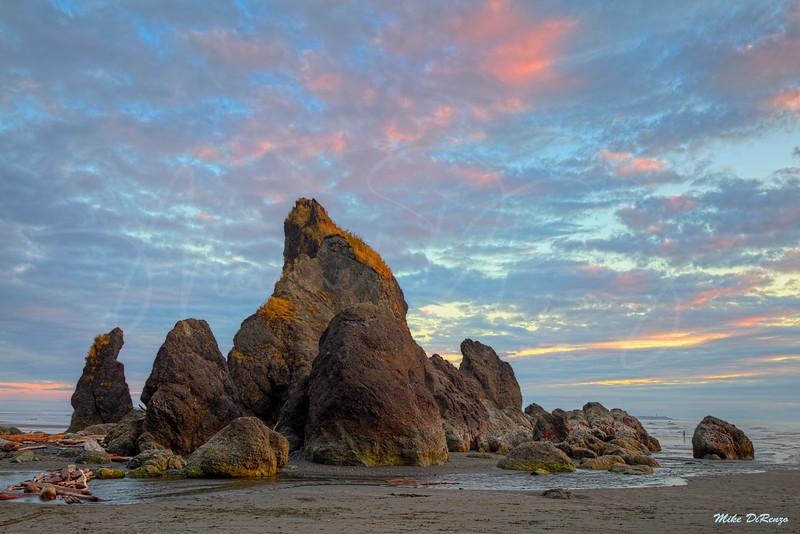 Ruby Beach Sunset 8316 w51