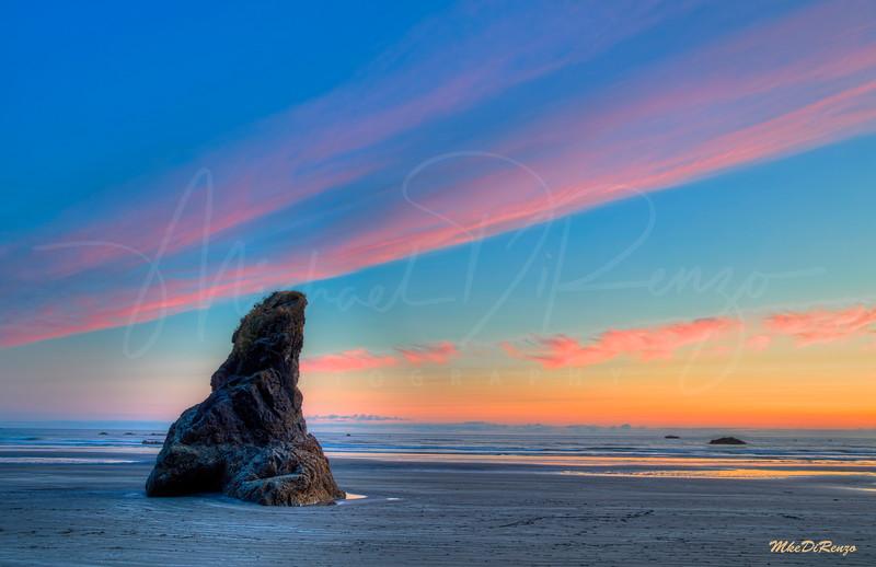 Ruby Beach Sundown 8024 w55