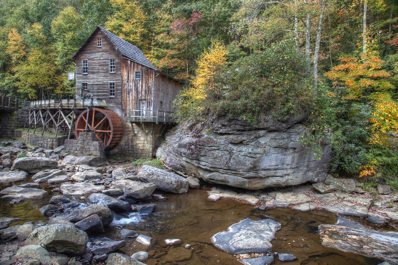 The Old Mill Stream 9266 w33