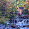 Sunny Morning by the Grist Mill 9678 w32