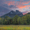 Seneca Rocks at Dawn 3147 w46