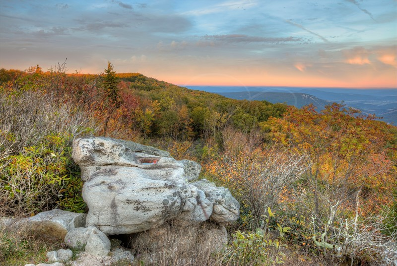 Dolly Sods Sunset 2744 w49