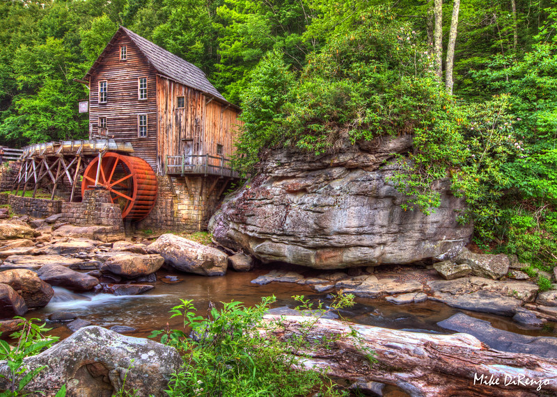 Babcock State Park  Mill   0162   w21