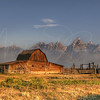 Mormon Barn - Grand Tetons   5500   w21