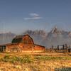 Mormon Barn - Grand Tetons   5500   w21