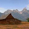 Tetons Barn  82006  w1