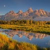 Teton Sunrise Moon 2186 w51
