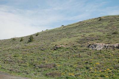 Red Canyon langs de WY-28