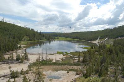 Yellowstone NP Geysers en Hotsprings 2
