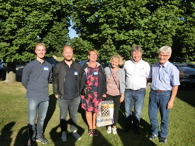 Swedish Bergqvists at the family reunion