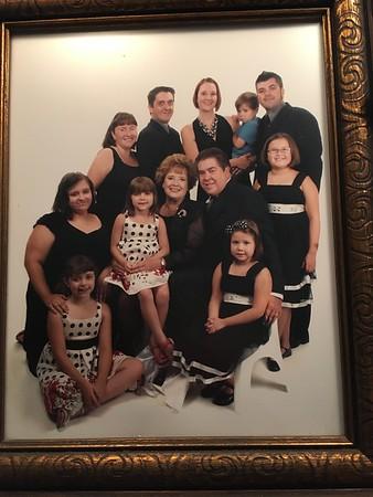 Bob Bergstroms familj