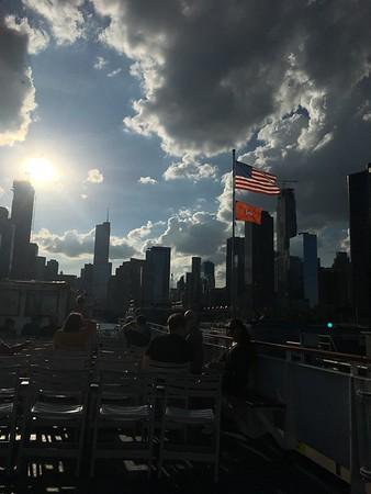 Motljus på Chicagofloden
