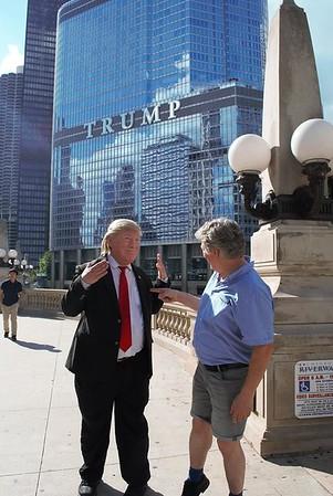 Möte med Donald Trump
